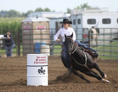 "Blazin For Payday (""Rowdy"") Idaho Barrel Futurity"